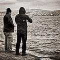 Rainy Day Fishing by Joan Carroll
