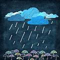 Rainy Day With Umbrella by Setsiri Silapasuwanchai