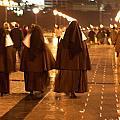 Rainy Night Nuns by Lorraine Devon Wilke