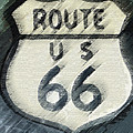 Rainy Night On Route 66 by Bill Owen