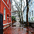 Rainy Philadelphia Alley by Bill Cannon