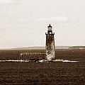 Ram Island Ledge Lighthouse by Skip Willits