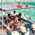 Ramon's Glass Bottom Boat by John Westerhold