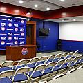 Rangers Press Room by Ricky Barnard