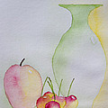 Ranier Cherries And A Pink Lady by Heidi Smith