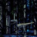 Raptor Dinosaur by Christian Darkin