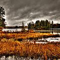Raquette Lake In The Adirondacks by David Patterson