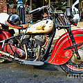 Rare Indian Motorcycle by Paul Ward