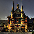 Rathaus At Wernigerode by Rob Hawkins