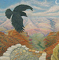 Raven Over The South Rim  by Marcia  Perry