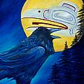 Raven Spirit by Dee Carpenter