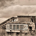 Ready For The Harvest Sepia by JC Findley