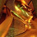 Reclining Buddha 2 by Bob Christopher