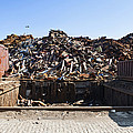 Recycle Dump Site Or Yard For Steel by Corepics