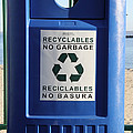 Recycling Bin by Photo Researchers, Inc.