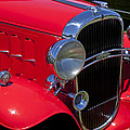 Red 1932 Oldsmobile by Garry Gay