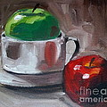 Red And Green Apples by Samantha Black