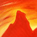 Red And Orange by Hakon Soreide