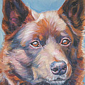 red Australian Kelpie by Lee Ann Shepard