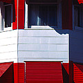 Red Awnings by Alfred Dominic Ligammari II