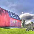 Red Barn by David Troxel