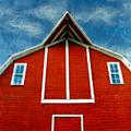Red Barn by Jill Battaglia