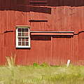 Red Barn Of New Jersey by David Letts
