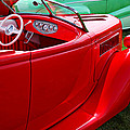 Red Beautiful Car by Garry Gay
