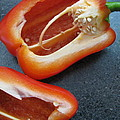 Red Bell Peppers by Penny Anast