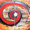 Red-black Swirl by Katarina Benova