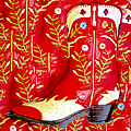 Red Boot by Jim Painter