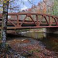 Red Bridge by Debra and Dave Vanderlaan