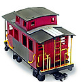 Red Caboose by Susan Leggett