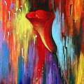 Red Calla Lily by Kume Bryant