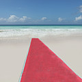 Red Carpet On A Beach by Buena Vista Images