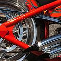 Red Chopper Detail by Paul W Faust -  Impressions of Light