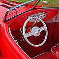 Red Classic Car by Garry Gay