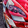 Red Corvette by Lauri Novak