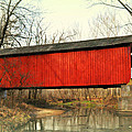 Red Covered Bridge by Marty Koch