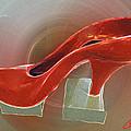 Red Dancing Shoe Ll Rest by Colette V Hera  Guggenheim