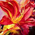 Red Day Lily by Ruth Harris