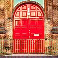 Red door by Tom Gowanlock