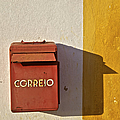 Red Faded Mailbox Of Portugal II by David Letts