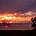 Red Fire Sunset by HW Kateley