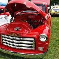 Red Gmc by Teri Schuster