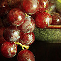 Red Grapes by Darren Fisher