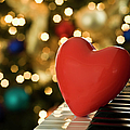 Red Heart On Piano, Sandusky by Ray Sandusky / Brentwood, TN
