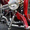 Red Hot Rod- Light And Chrome by Paul Ward