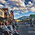 Red  Lodge Motorcycle Rally by Gary Beeler