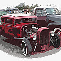 Red Model A Coupe by Steve McKinzie